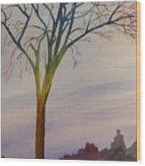 Surreal Tree No. 2 Wood Print