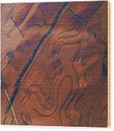 Surrealism Over The Plains Wood Print