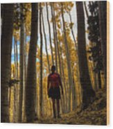Surrounded By Nature Wood Print