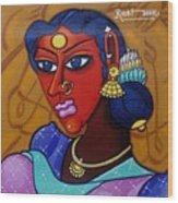 Suryakala Wood Print