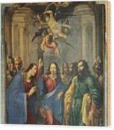 Sus Au Temple Wood Print