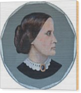 Susan B Anthony Coin Wood Print