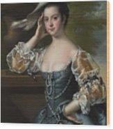Susannah  Wood Print