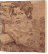 Sushila Wood Print