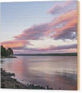 Susnet Nova Scotia  Wood Print