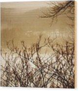 Susquehanna Vibes... Wood Print