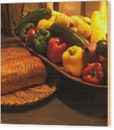 Sustenance Wood Print