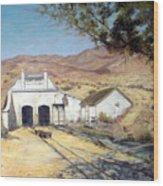 Sutro Nevada Wood Print by Evelyne Boynton Grierson