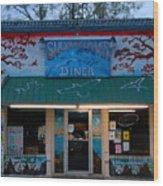 Suwannee River Diner Wood Print