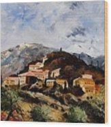 Suzette Provence  Wood Print