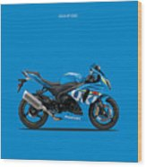 Suzuki Gsx R1000 Wood Print