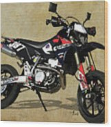 Suzuki Race Motorcycle. 387. Wood Print