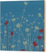 Suzy's Meadow Wood Print