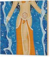 Svadhishthana Sacral Chakra Goddess Wood Print