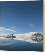 Svalbard Reflection 1 Wood Print