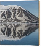 Svalbard Reflection 2 Wood Print