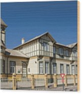 Swakopmund's German Colonial Architecture Wood Print