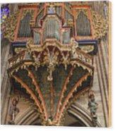 Swallows Nest Grand Organ Wood Print