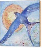Swallows Return  Wood Print