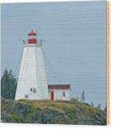 Swallowtail Lighthouse Wood Print