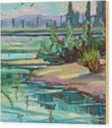Swallowtail Riverside Wood Print
