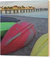 Swampscott Yacht Club Swampscott Ma Boats Wood Print