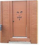 Swann Door Wood Print