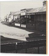Swansea - Vetch Field - North Bank 1 - Bw - 1960s Wood Print