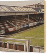 Swansea - Vetch Field - North Bank 2 - 1970s Wood Print