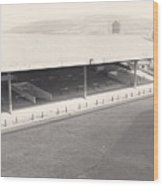 Swansea - Vetch Field - South Stand 1 - Bw - 1960s Wood Print