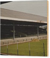 Swansea - Vetch Field - South Stand 2 - 1970s Wood Print
