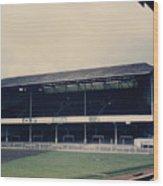 Swansea - Vetch Field - West Terrace 3 - 1970s Wood Print