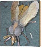 Swatter Bee Wood Print