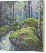 Swedish Woods Wood Print