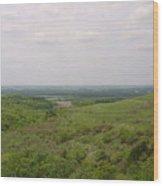 Sweeping Vista II Wood Print