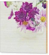Sweet Bouquet Wood Print