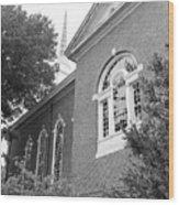 Sweet Briar Chapel Wood Print