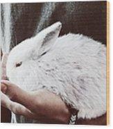 Sweet Bunny Love Wood Print