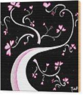 Sweet Charity By Madart Wood Print