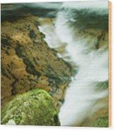 Sweet Creek Wood Print