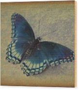 Sweet Flutterby Wood Print