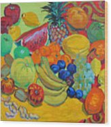 Sweet Fruits Wood Print