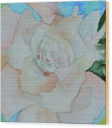 Sweet Gardenia Wood Print