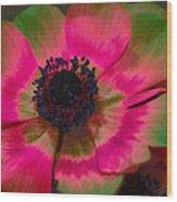 Sweet Poppy Seed Wood Print