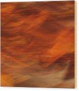 Sweet Potato Mash Wood Print