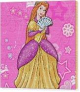 Sweet Princess Wood Print