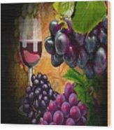 Sweet Red Wine # 3 Wood Print