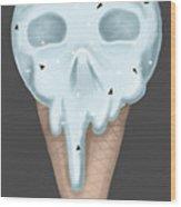 Sweet Skull Wood Print