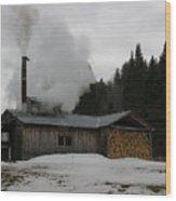 Sweet Smoke Wood Print