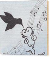 Sweet Symphony Wood Print